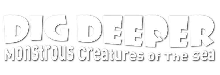Final-2 logo dig deeper monstrous creatures of the sea