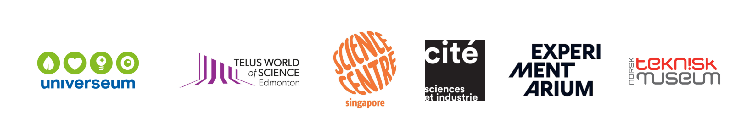 science centers logotypes